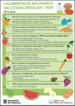 Nova guia de l'alimentació saludable a l'etapa escolar- Recomanacions i Tendències