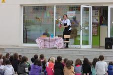Acaba el cicle d'espectacles educatius de la titella Mill el Conill a les escoles