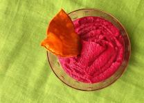 Tastet d'Hummus de Remolatxa i Cigrons